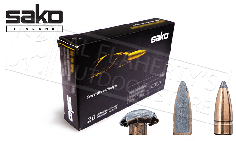 Sako 243 WIN Gamehead, JSP 100 Grain Box 20 #P615113E