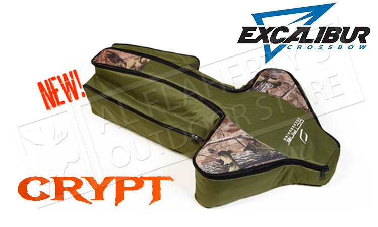 Excalibur Crossbow Octane Crypt Soft Case for Micro Series & Compound Crossbows #6012