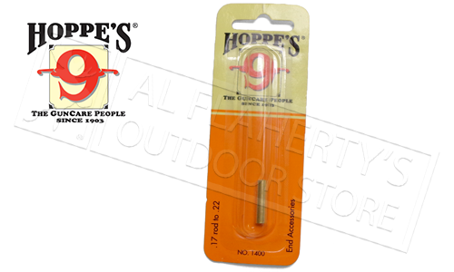 Hoppe's Adapter for 17 Caliber Rod to 22 Caliber #1400