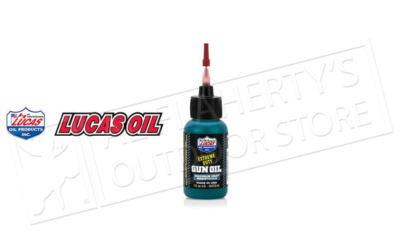 Lucas Oil Extreme Duty Gun Oil, 1oz #10875