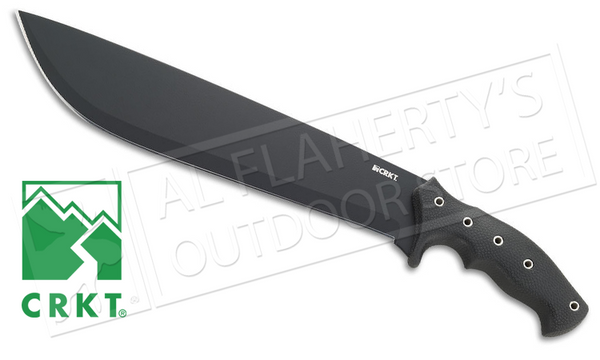 "CRKT #K910KKP ChanceinHell Machete with 12"" Blade - Designed by Ken Onion"