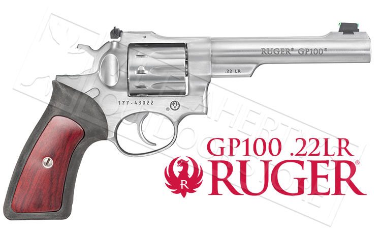 Ruger GP100 .22LR Double Action Revolver #1757