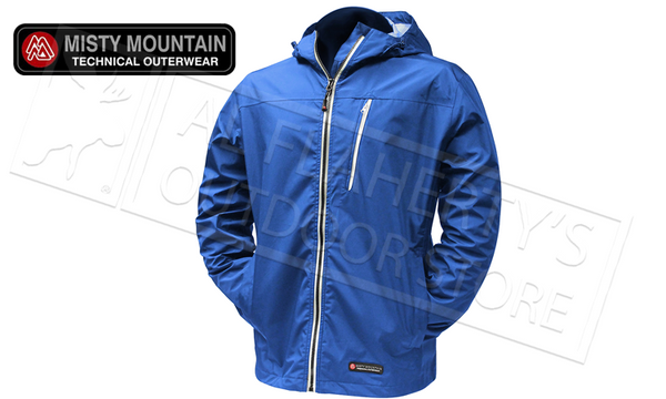 Misty Mountain Aerodry 3-Layer Jacket, Blue M-XL