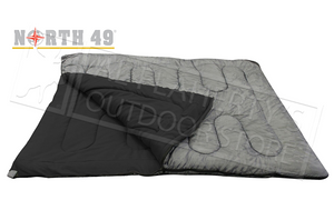 "N49 Double Comfort Sleeping Bag - 67"" x 77"" #5899"