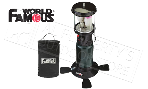 World Famous #2827 Lantern with Piezo Ignition and Double Mantle