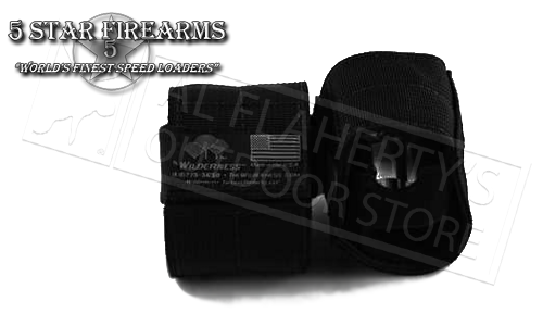 5 Star Firearms Wilderness Tactical Pouch for Speed Loaders - Medium #TACT_PCH-M