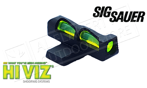 HiViz Litewave Fiber Optic Front Sight #8 for SIG P-Series Pistols #SGLW08