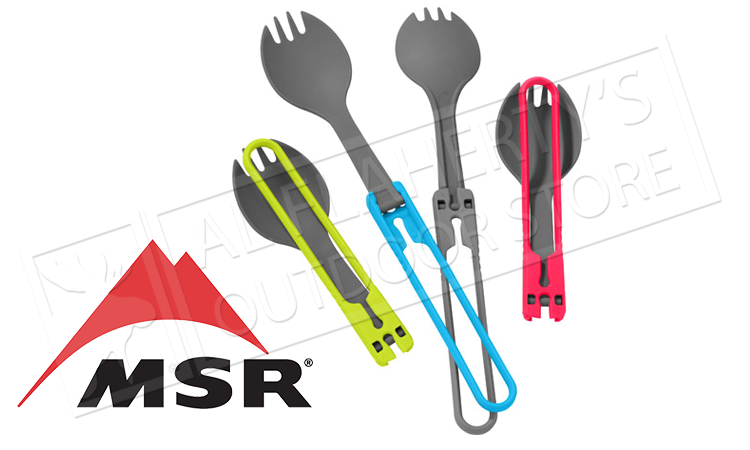 MSR 4 Piece Folding Spork Utensil Kit #03170