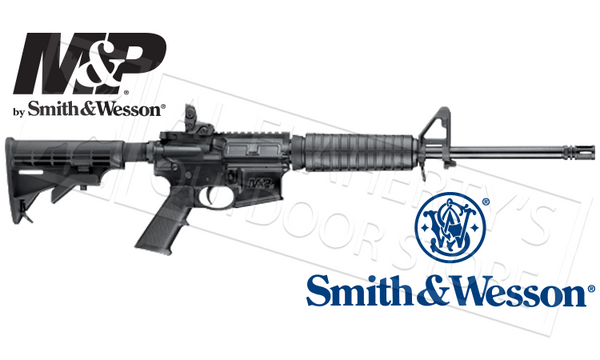 "Smith & Wesson M&P15 Sport II Rifle 16"" Barrel 5.56x45 NATO"