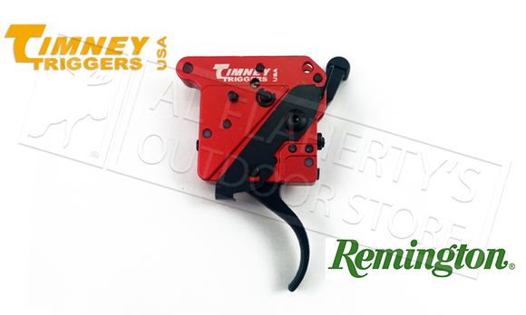 Timney Triggers Remington 700 2-Stage Straight Trigger with Safety, RH #533