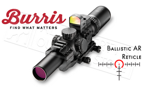 Burris #200426-FF MTAC Scope Combo 1-4x24mm with FastFire 3 Sight & AR-P.E.P.R. Mount