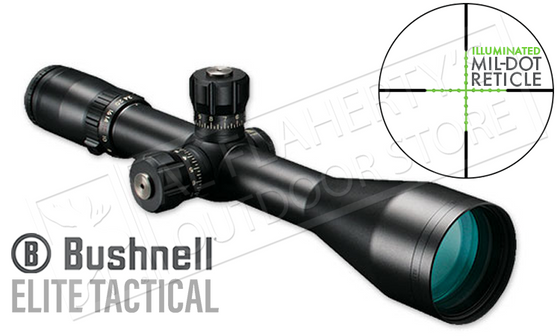 Bushnell Elite Tactical LRS FFP Scope 6-24x50mm with Illuminated Mil-Dot Reticle #ET6245F