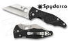 Spyderco #C85GP2 Yojimbo 2 Folding Knife by Michael Janich, Plain Edge