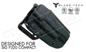 Blade-Tech Original Holster for SIG Sauer P320 Compact, Right-Handed with ASR Mount #HOLX000889032102