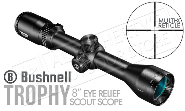 Bushnell Trophy Scout Scope 2-7x36mm w/Multi-X Reticle #752736S