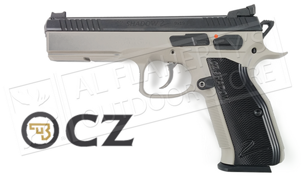 CZ Shadow 2 Steel-Frame Urban Grey Two-Tone 9mm Pistol