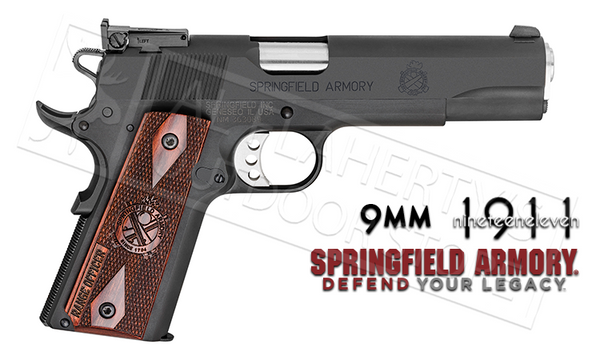 Springfield Armory 1911 Range Officer - 9mm #P19129LP