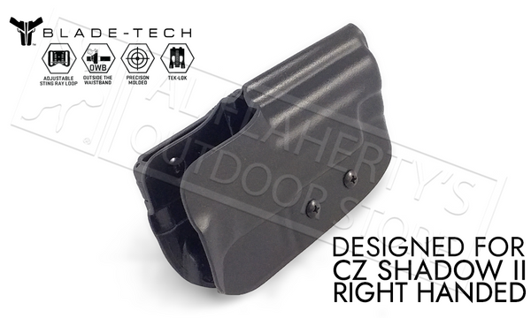 Blade-Tech Holster OWB - CZ Shadow II, RH D/OS with Tek-Lok #HOLX000828401596