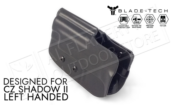 Blade-Tech Holster OWB - CZ Shadow II, LH D/OS with Tek-Lok #HOLX000890657939