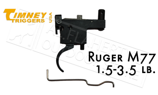 Timney Triggers Ruger Model 77 Series Trigger for Tange Safety Rifles #601
