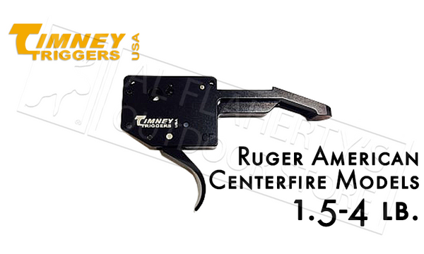 Timney Triggers Ruger American Centerfire, 1.5-4 lb Adjustable #641C