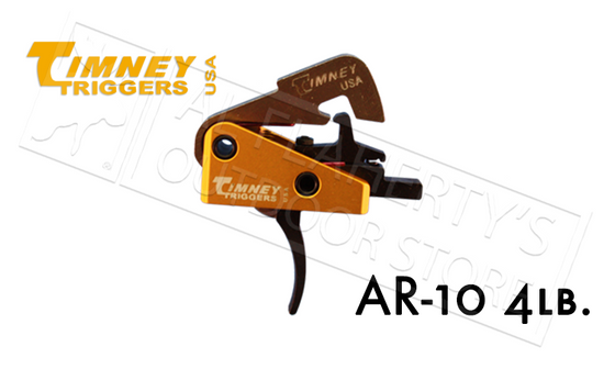Timney Triggers AR-10 Competition, 4 lb Pull Solid #670