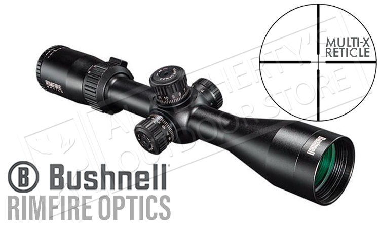 Bushnell Rimfire Scope 3-12x40mm with Multi-X Reticle #633124
