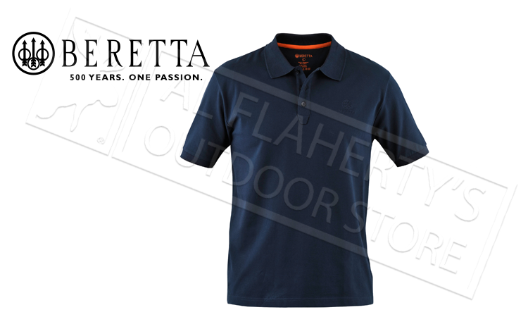 Beretta Corporate Polo Navy Blue #MP020072070504