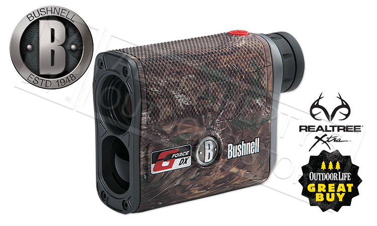 Bushnell G-Force DX ARC Laser Rangefinder 6x21mm in Realtree XTRA Camo #202461