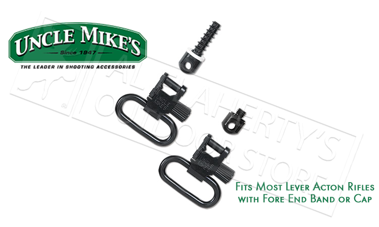 Uncle Mike's Fore End Band Style & Lever Action Swivel Adapter Kit #15312