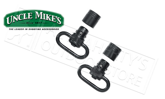 Uncle Mike's Quick Detach Push Button Swivel Kit #10112
