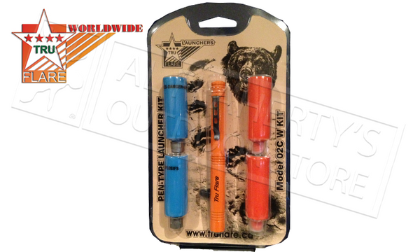 TruFlare Pen Launcher Kit with Whistles & Bear Bangers #02CW