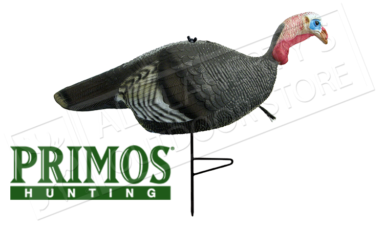 Primos Hunting Upright Jake Turkey Decoy with Ground Breaker Stake #69093