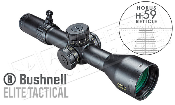 Bushnell Elite Tactical HDMR II 3.5-21x50mm FFP with Horus H-59 Reticle #ET36215H