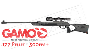 Gamo Magnum Air Rifle with Scope, .177 Pellet 1650FPS #611006154