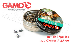 Gamo Hunter Knockdown Power Pellets .177, 7.6 Grain Dome Tip Tin of 250 #632082454