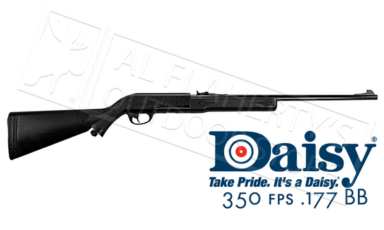 Daisy Model 74 BB Air Rifle, .177 Caliber CO2 Powered 350 fps