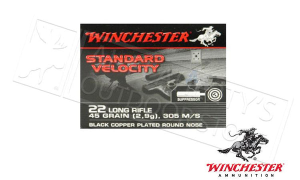 Winchester Standard Velocity Sub Sonic 22 Long Rifle 235 Count #S22LRTSVE