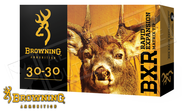 Browning 30-30 WIN BXR, 155 Grain Box of 20 #B192130301