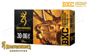 Browning 30-06 SPRG BXC, 185 Grain Box of 20 #B192230061