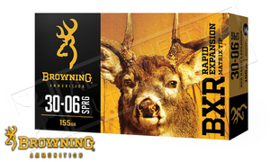 Browning 30-06 SPRG BXR, 155 Grain Box of 20 #B192103061