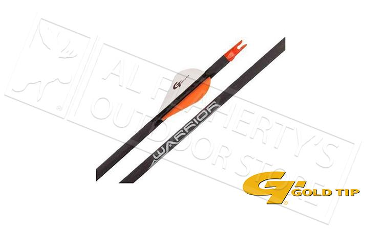 "Gold Tip Arrow Fletched Warrior (2"" vanes) 400"