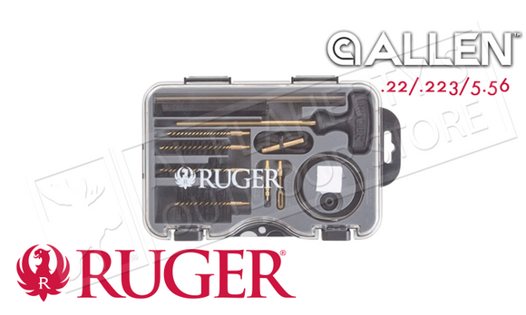 Allen Ruger MSR Cleaning Kit, .22-.223 Caliber #27839