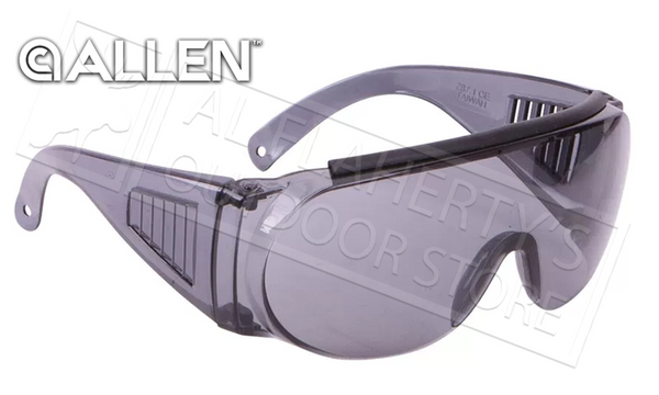 Allen Over Shooting & Safety Glasses, Mirror Smoke #2158