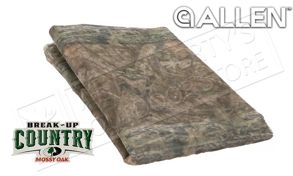 "Allen Camo Netting Blind Fabric, Mossy Oak Break-Up Country 56"" x 12ft #2469"