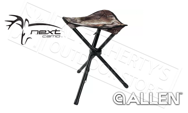 Allen Three Leg Folding Stool in Next Camo Pattern #5820
