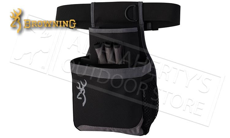 Browning Flash Shell Pouch, Black/Gray #121062692