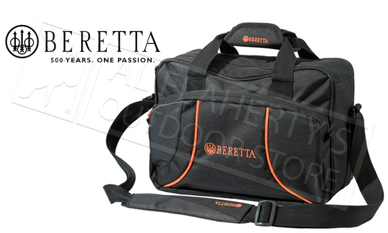 Beretta Uniform Pro Black Edition Bag for Shotgun Cartridges, 250 Shell Capacity #BSH60001890999