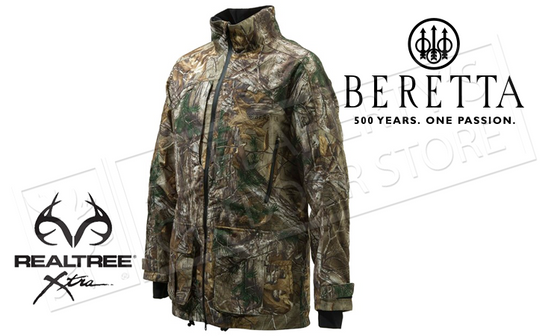 Beretta Light Static Jacket in Realtree Xtra Camo, #GU43202295089E