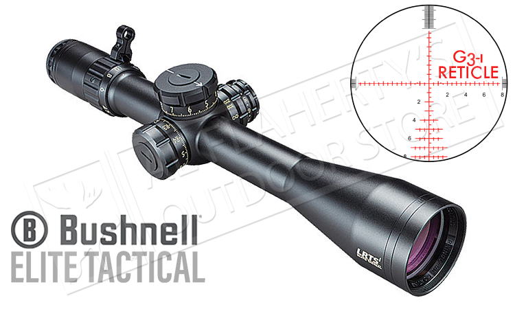 Bushnell Elite Tactical LRTSi 3-12x44mm, FFP with G3-i Reticle #ET3124GI